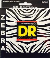 Dr Zebra Acoustic-electric Guitar Strings Ze-10 Lite-lite 10-46