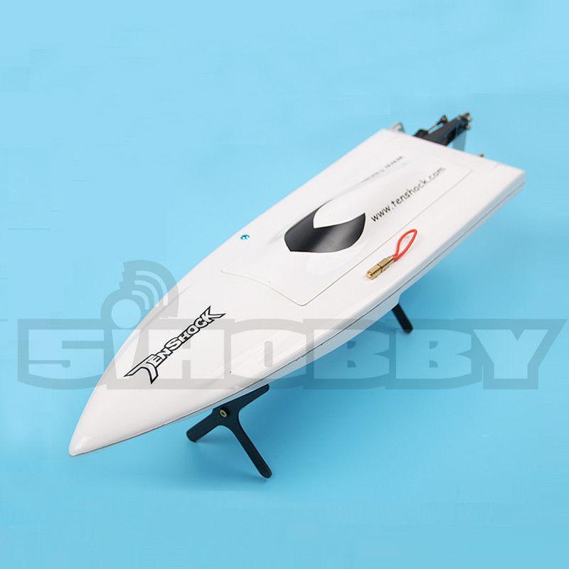 Tenshock Mini Mono fibra de vidrio barco Artr con Viper VZ1515 Motor y 40A Esc WH