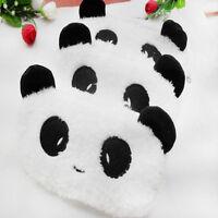 Cute Panda Soft Plush Pencil Case Pen Pocket Cosmetic Makeup Zipper Bag Pouch