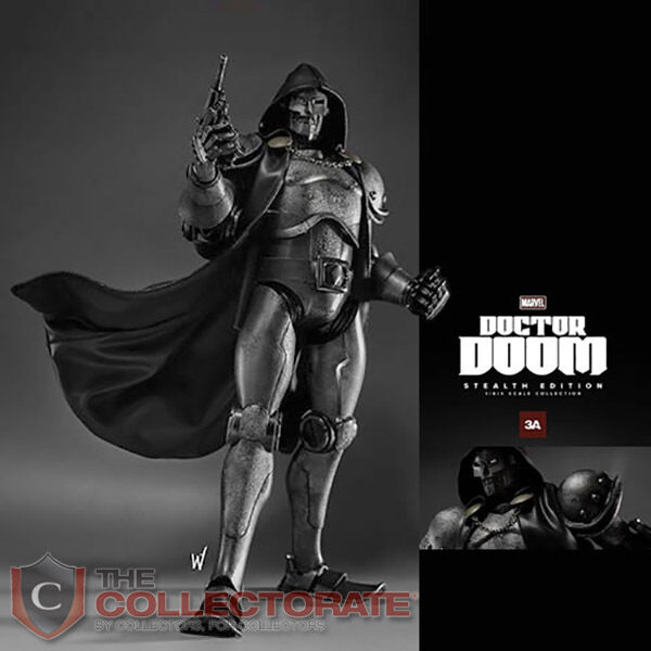 3A X DOCTOR DOOM FIG STEALTH EDITION NEW