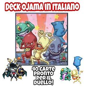 Yu-Gi-Oh-Deck-Mazzo-Completo-OJAMA-ITALIANO-40-Carte-Extra-Deck-MYDECK