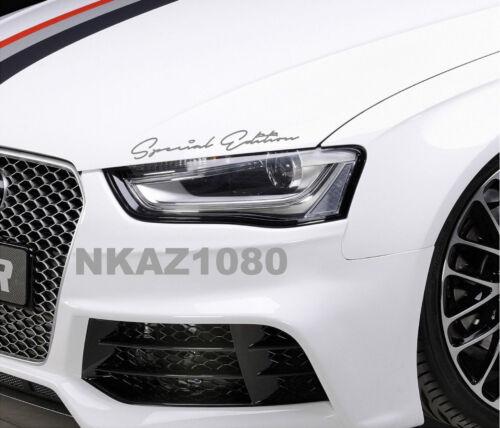 Special Edition Decal Racing Sport car Sticker Emblem logo