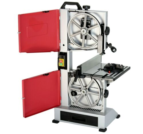 """Quality 9"""" Bench Top Woodworking Bandsaw 240v with Cast Table Wood Cutting Blade"""