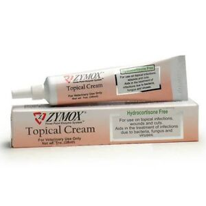 Zymox Topical Cream Without Hydrocortisone Dog Cat Topical