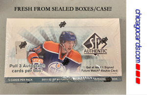 2011-12 Upper Deck SP Authentic HOBBY Box (Ryan Nugent-Hopkins RC Patch Auto)?