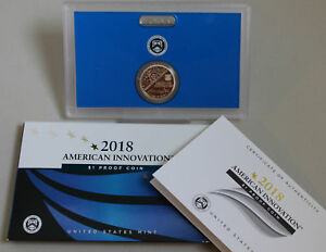 2018-S-PROOF-American-Innovation-Golden-Dollar-Coin-New-1-US-Mint-Series