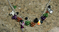 New Walt Disney World Parks MICKEY MOUSE Icon Charm Halloween Necklace