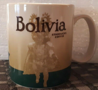 Icon Mug Starbucks Bolivia  with sku