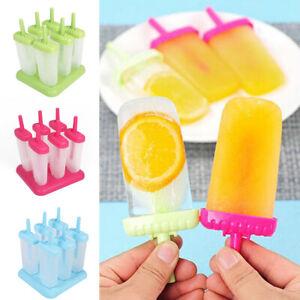 6x-Kitchen-Frozen-Ice-Cream-Maker-Mold-Popsicle-Mould-Maker-Lolly-Yogurt-YMZ