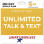 thumbnail 1 - 5-Mo-Liberty-Wireless-Prepaid-Wireless-Phone-Plan