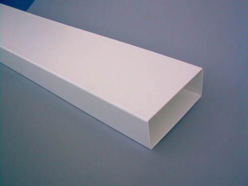 Lüftungsrohr Flachrohr Luftkanal Flachkanal 220 x 54 mm aus Kunststoff