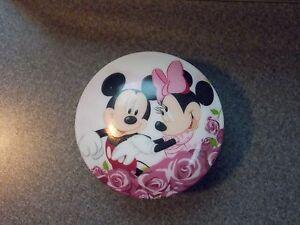 Vintage disney ceramic jewelry box music small world for Minnie mouse jewelry box