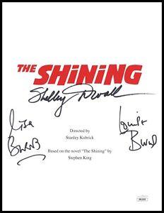 Shelley Duvall Burns Twins Autograph Signed Script Cover - The Shining (JSA COA)