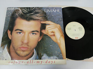 LIMAHL-COLOUR-ALL-MY-DAYS-MAXI-LP-VINILO-VINYL-12-034-1986-SPANISH-EDIT-G-VG