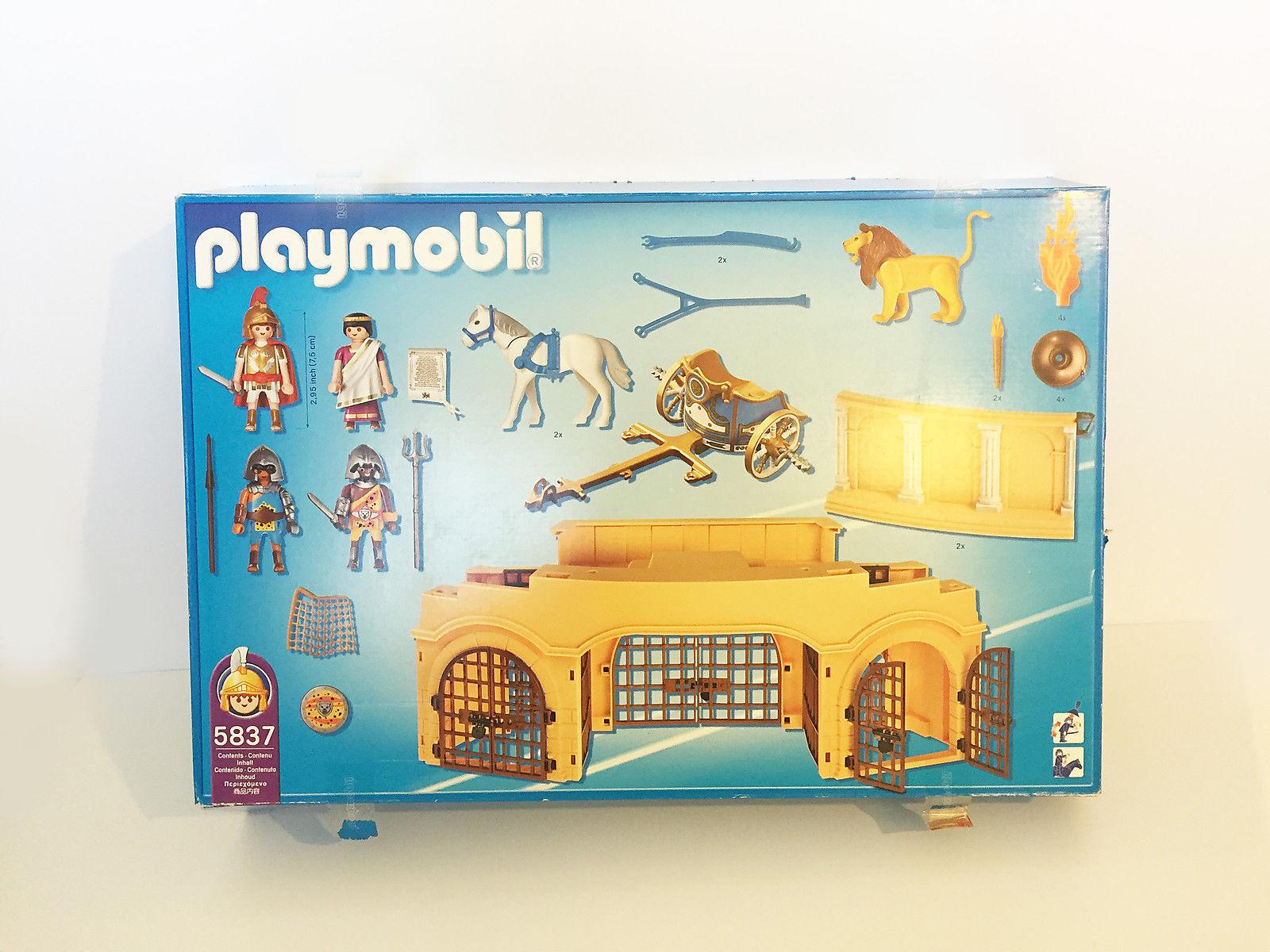 Playmobil Rouomo Arena 5837 - Bre nuovo in scatola  - Retirosso  economico in alta qualità
