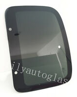 Fits 01- 04 Toyota Tacoma 2d Extended Cab Driver Left Rear Quarter Glass Window