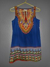 Innovation By Design works Women's Tribal Print Tunic Dress/Top  Sz Small