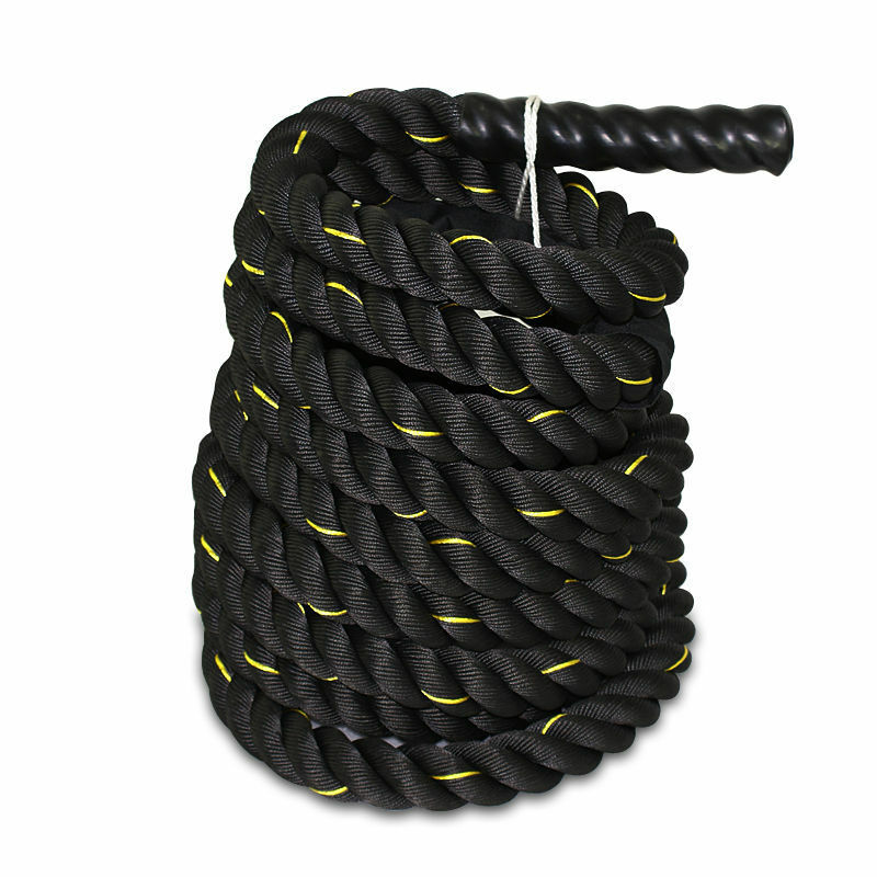 Polydac Undulation Rope Exercise Fitness Training - 1.5  width Avail. in 50 FT