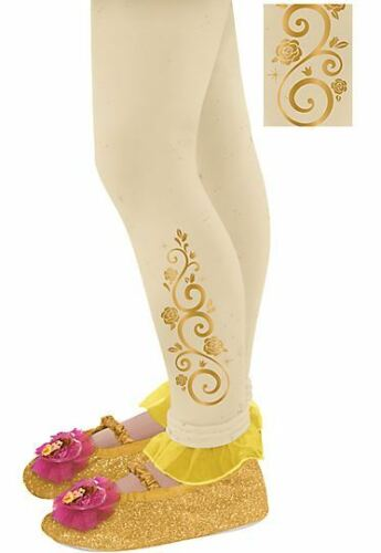 Beauty and the Beast Princess Belle Yellow Girls costume dress gloves outfit