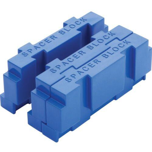 Kreg Drill Guide Spacer Blocks 3pce KDGADAPT by tyzacktools