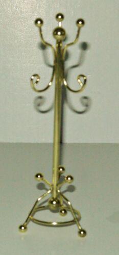 Dekoration Kleiderständer aus Messing 1:12 Puppenstubenzubehör