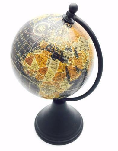 world globe on stand. Vintage Style Small Antique World Globe 10cm With Wooden Stand HM1183 On H