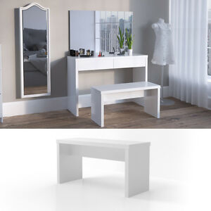 banc pour coiffeuse table de maquillage viola ebay. Black Bedroom Furniture Sets. Home Design Ideas