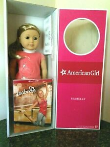 "American Girl 18/"" Isabelle Doll /& Book GOTY 2014 Girl of the Year new Extensions"