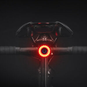 ROCKBROS Bicycle Smart Auto Brake Sensing Light IPx6 Waterproof LED Charging