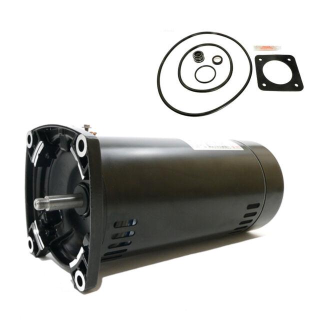 Sta-Rite Dura-Glas .75HP P2R5D-181L Repl Motor Kit AO Smith SQ1072 w GO-KIT-6