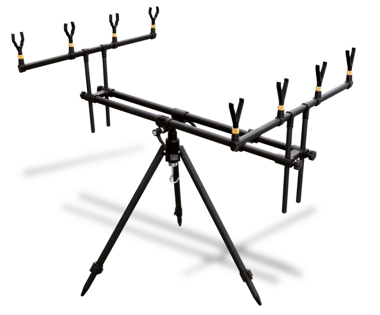 Lineaeffe rod pod tres pierna Tripod 4er cañas soporte rodpod karpfenruten soporte