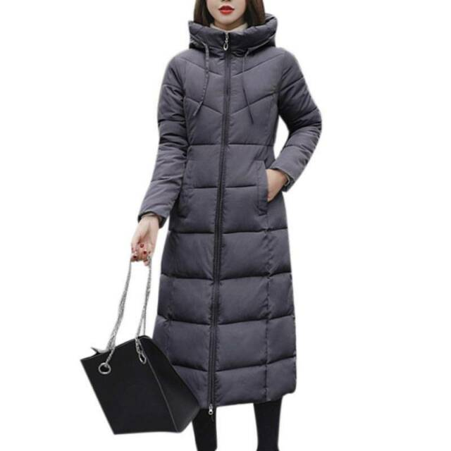 NEW OLIVE WOMEN Jacket Puffer Coat Hooded Zippered Winter QUILTED S M L XL USA