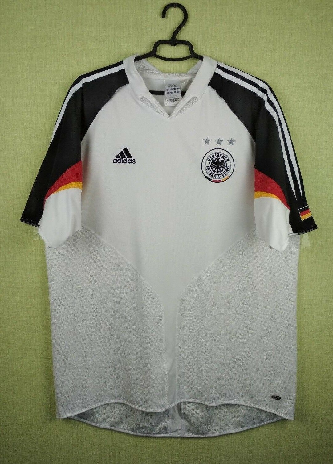 Germany soccer jersey XL 2004 2005 Home adidas shirt football soccer football