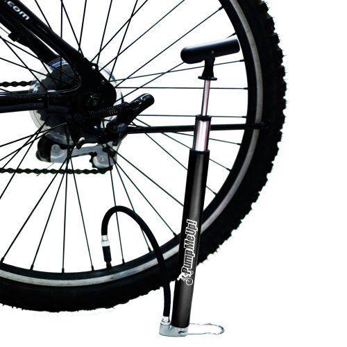 Presta And Schrader Bicycle Val Mini Floor Bike Pump by Geared2U Pump Me Up