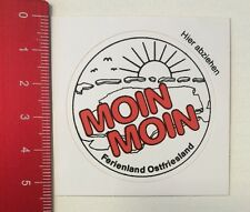 Aufkleber/Sticker: Moin Moin - Ferienland Ostfriesland (25031691)