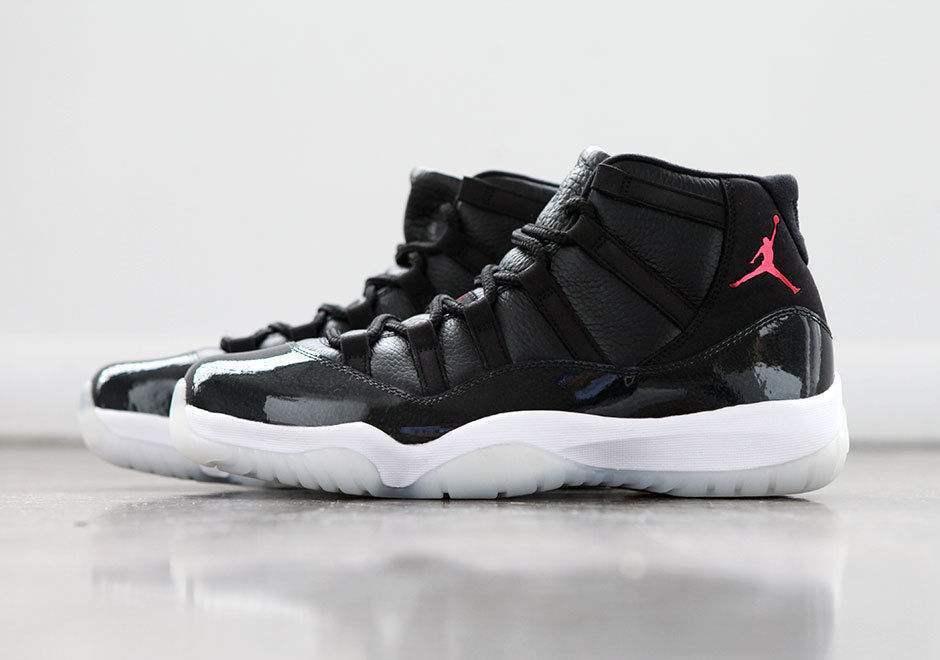 Nike Air Jordan 11 Retro 72-10 black gym red-white-anthracite 378037-002 sz 8