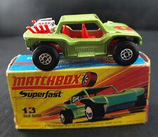 Matchbox ◊ Superfast n°13 ◊ Baja Buggy   ◊  1/63 ◊ boxed/en boite