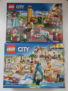 Lot-47-2-SETS-LEGO-City-People-Pack-60153-60234-Lots-of-miinifigures