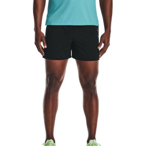 Under Armour Homme speedpocket 5 in Short Pantalon Pantalon noir sport environ 12.70 cm