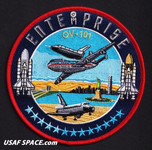 "ORIGINAL ENTERPRISE OV-101 TIM GAGNON-COMMEMORATIVE 5/"" NASA SPACE SHUTTLE PATCH"