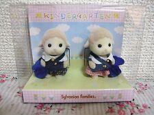 Sylvanian Families Calico Critters Sheep Baby Pair Set Kindergarten Epoch Japan