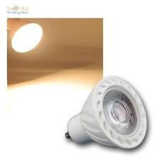 5 x GU10 Lampada LED COB 7W bianco caldo 500lm Riflettore Faretto lampada