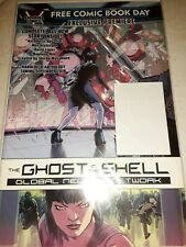 Free Comic Book Day FCBD 2018 GHOST IN THE SHELL GLOBAL NEURAL NETWORK UNSTAMPED