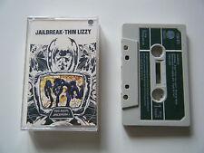 THIN LIZZY JAILBREAK CASSETTE TAPE 1976 GREEN PAPER LABEL VERTIGO UK