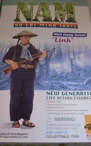 DRAGON  FIGURINE NEUVE 1/6  LINH VIETCONG GIRL  7027  NO OPENED