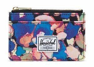 Azul KreditVisitenkartenetui Peint Floral Rfid Portafoglio Oscar Herschel WEDI29H