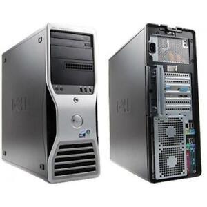 Dell Precision T5400- Xeon 5405-8GB-2x250GB HHD- FREE Shipping across Canada - 1 Year Warranty Canada Preview