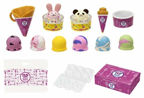 Takara Tomy Licca-chan Thirty One Ice Cream Shop Chopstick Accessory Set F//S NEW