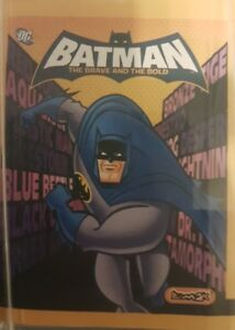 BATMAN THE BRAVE AND THE BOLD X5O LOOSE STICKERS
