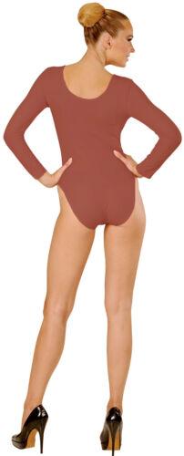 Zubehör Accessoire Karneval Fasching Body für Damen braun NEU